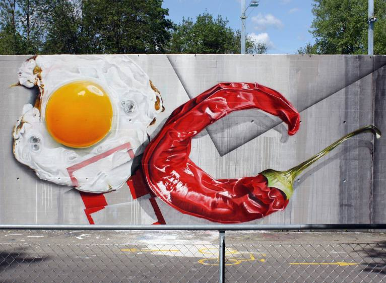 15 Creative Street Art Works From All Over The World