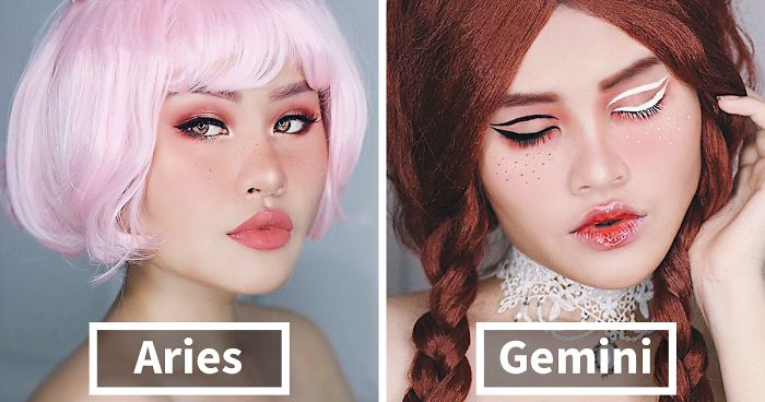 12 Creative Makeup Looks According To The Zodiac Signs