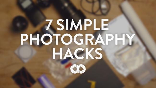 Photography Inspiration: 7 Simple And Useful Hacks From COOPH (VIDEO)