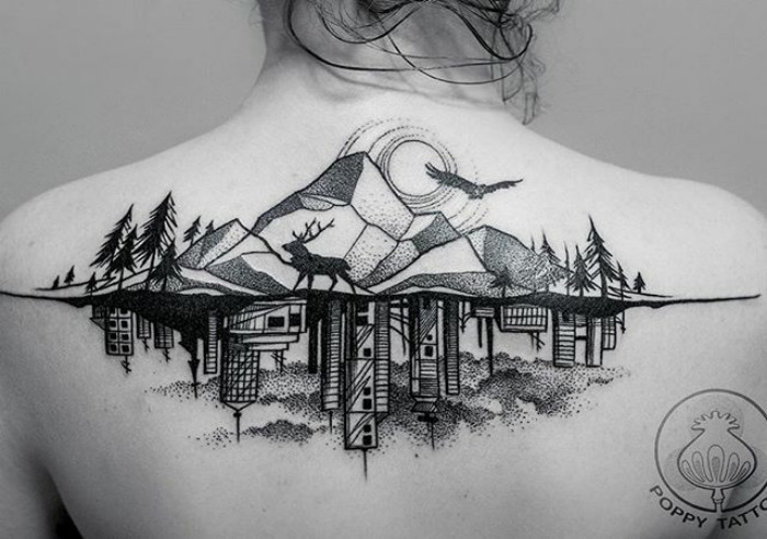 Tattoo Art: 10 Stunning Architecturally Inspired Artworks