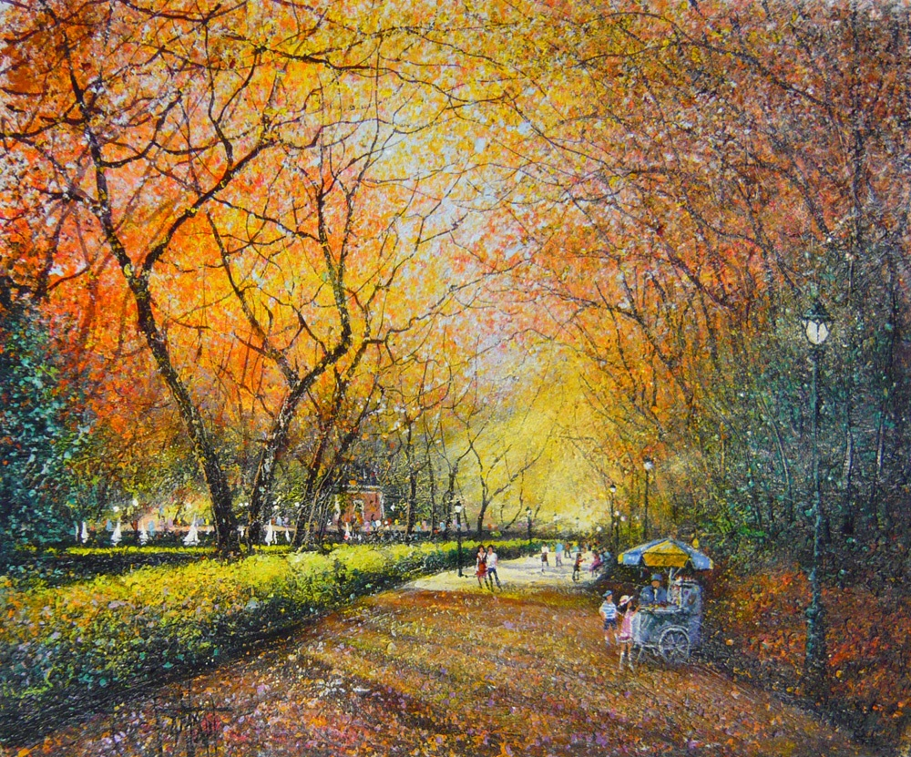Autumn Beauty: 12 Stunning Paintings Emanating Magic