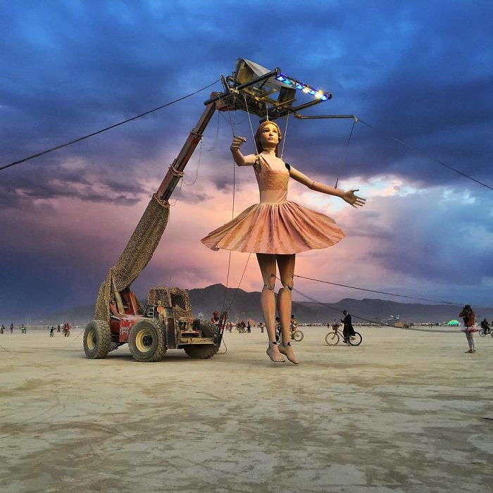 10 Stunning Photos From Burning Man Festival 2017