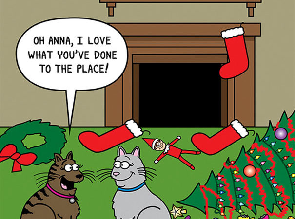 10 Amazing Cat Cartoons To Understand The Feline World Better