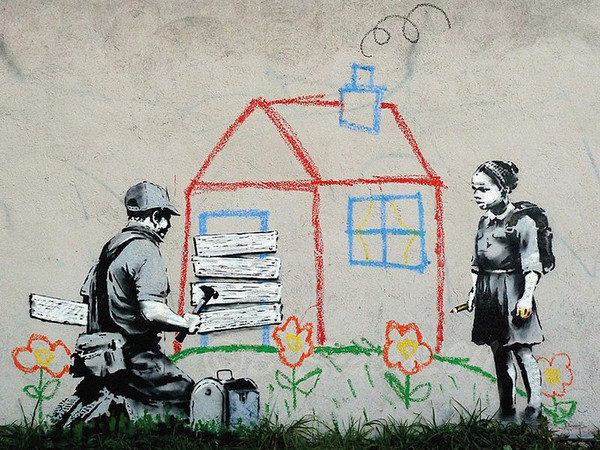Graffiti World : 10 Impressive Banksy Urban Works